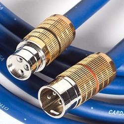 Clear Interconnect 0.5 m XLR-XLR