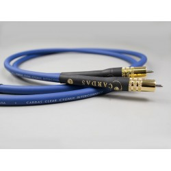 Clear CYGNUS Interconnect 1.5m RCA-RCA